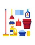 Chemia użytkowa - płyny do naczyń, do podłóg, do szyb, środki czyszczące, ściereczki nawilżone